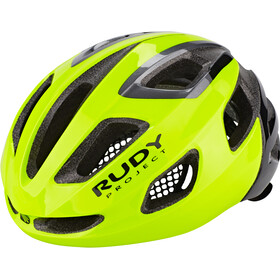 Rudy Project Strym Cykelhjelm, yellow fluo shiny
